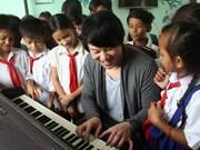 Le chanteur Thanh Bui, ambassadeur de bonne volonté de l'ONU