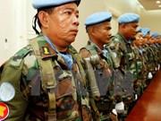 Réunion des forces de maintien de la paix de l'ASEAN au Cambodge