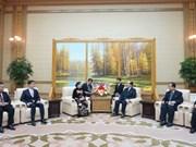 Une délégation du PCV en visite en RPD de Corée