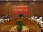 23e réunion du Comité central de pilotage de la réforme judiciaire
