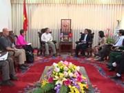 Déminage : une délégation américaine à Quang Tri