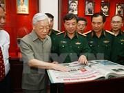 Le Journal ''Quan doi nhan dan'' souffle ses 65 bougies