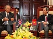 Le gouverneur de la Banque d'Etat reçoit Tony Blair