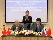 Intensifier la coopération entre HCM-Ville et Moscou