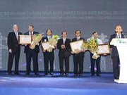 Inauguration de la Centrale thermique Mông Duong II