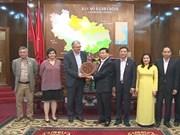 Une délégation du Parti communiste français visite à Bac Ninh