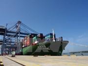 Un grand cargo de 160.000 tonnes mouille au port de Cai Mep-Thi Vai