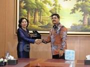 Vietnam et Indonésie renforcent leur coopération  judiciaire
