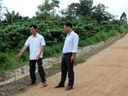 Dak Nong a sa première commune répondant aux normes de la Nouvelle Ruralité