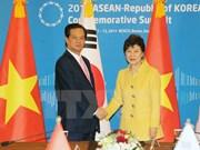 Renforcement des relations Vietnam-R. de Corée en cette nouvelle période