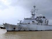 Un navire de la Marine nationale française à Da Nang
