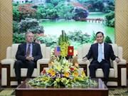 Le ministre de l'Intérieur reçoit l'ambassadeur des Etats-Unis