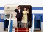Premières images du président chinois Xi Jinping en visite d'État au Vietnam