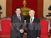 Vietnam et Laos intensifient leur solidarité spéciale