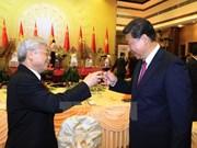 Banquet en l'honneur du dirigeant chinois Xi Jinping