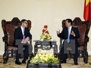 Nguyen Tan Dung reçoit le ministre des Sciences et des Arts du Land de Hesse