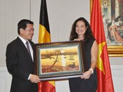 La présidente du Sénat belge à Ba Ria-Vung Tau