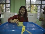 Les électeurs birmans aux urnes pour les législatives