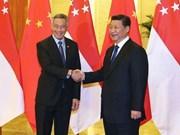 Singapour et la Chine renforcent leurs relations bilatérales