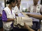 Fin du vote au Myanmar