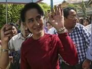Myanmar : Aung San Suu Kyi élue députée de la chambre basse
