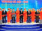 Construction : ouverture de VietBuild à Hanoi