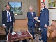 Vietnam et Egypte coopèrent dans l'étude de politiques