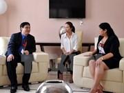 Une délégation de l'Union de la Jeunesse communiste Hô Chi Minh en visite officielle à Cuba