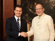 Le Mexique et les Philippines signent trois accords de coopération