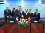 Vietnam - Pays-Bas : jumelage entre la province de Binh Duong et la ville d'Emmen