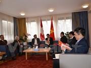 Renforcement de l'amitié entre le Vietnam et la Suisse