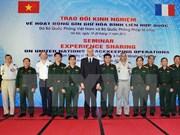 Maintien de la paix : Vietnam et France partagent des expériences