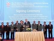 ASEAN TELMIN 2015: signature d'un protocole d'accord de coopération dans les TIC