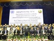 Le Laos ouvre sa 12e table ronde axée sur le développement socioéconomique
