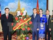 Félicitations au peuple laotien à l'occasion de la Fête nationale du Laos