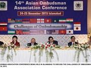 Le Vietnam à la 14e conférence de l'Association de l'Ombudsman d'Asie (AOA)