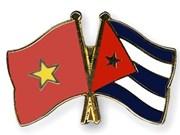 Félicitations pour le 55e anniversaire des relations diplomatiques Vietnam-Cuba
