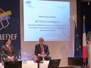 Intensifier les relations économiques Vietnam-France