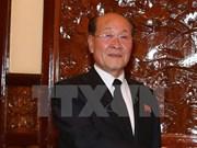 La délégation du Parquet suprême de la RPDC à Ho Chi Minh-Ville