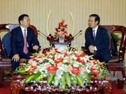 Promouvoir la coopération entre HCM-Ville et Gansu (Chine)