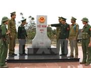 Réunion bilan sur le bornage de la frontière Vietnam-Laos