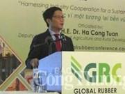 Pour un développement durable de la filière du caoutchouc du Vietnam