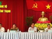 Lê Hông Anh rencontre des électeurs de Cân Tho