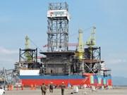 Mise à l'eau de la plate-forme pétrolière auto-élévatrice Tam Dao 05