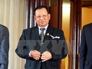Le président du Sénat cambodgien commence sa visite officielle au Vietnam