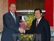 M. Truong Tân Sang reçoit un vice-Premier ministre russe