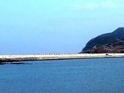 Quang Binh: achèvement de la digue reliant les îles de Hon La et Hon Co