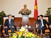 Le vice-PM Pham Binh Minh reçoit l'ambassadeur de RPDC