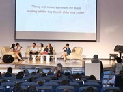 Forum des jeunes dirigeants vietnamiens 2015
