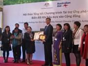 L'Australie aide le Vietnam dans la résilience au changement climatique